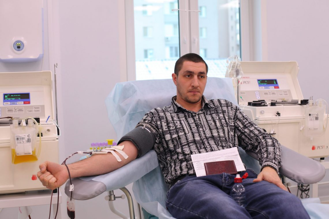 Cлово Почетному донору — Максимову А. М.